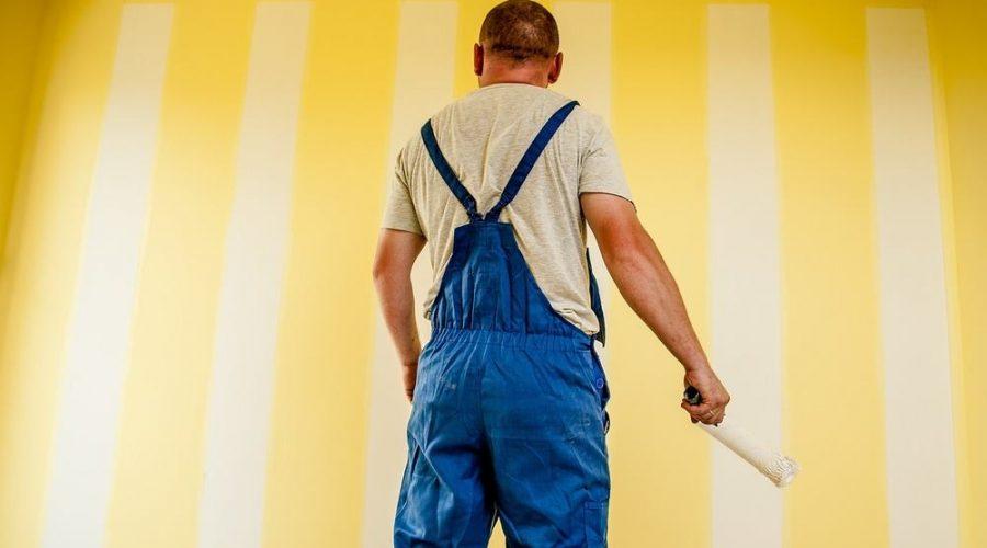 Maling af vægge og lofter ved professionel håndværker